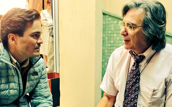 Kuno Becker y Pedro Damián