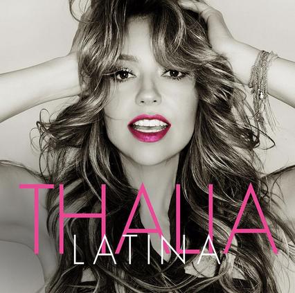 Thalía da a conocer la portada de su disco Latina