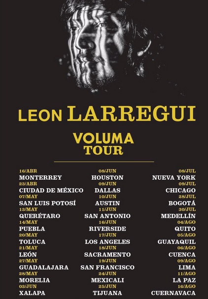 Tour 2016 de León Larregui
