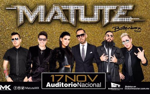 Matute en Auditorio Nacional