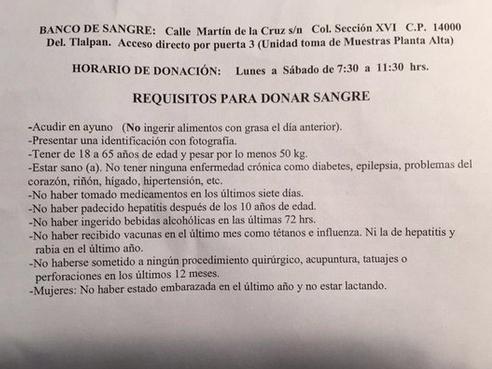 Mensaje para Gonzalo Vega