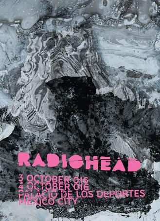 Radiohead en Palacio de los Deportes 3 y 4 de octubre