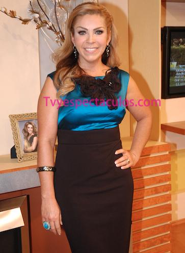 Rocío Sánchez Azuara recibe propuesta de trabajo en Televisa