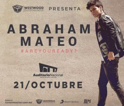 Abraham Mateo en Auditorio Nacional
