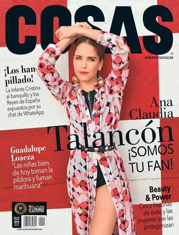 Ana Claudia Talancón en Revista Cosas