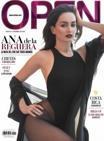 Ana de la Reguera en Revista Open