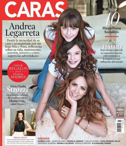 Andrea Legarreta en Revista Caras