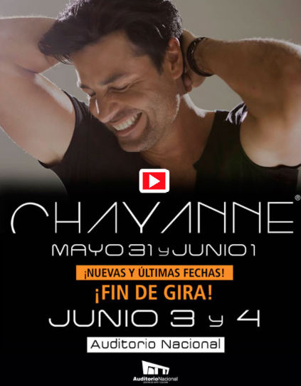 Chayanne en Auditorio Nacional