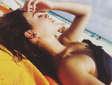 Danna Paola en Playa