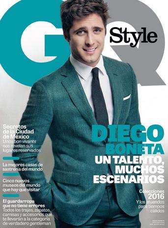 Diego Boneta en Revista GQ