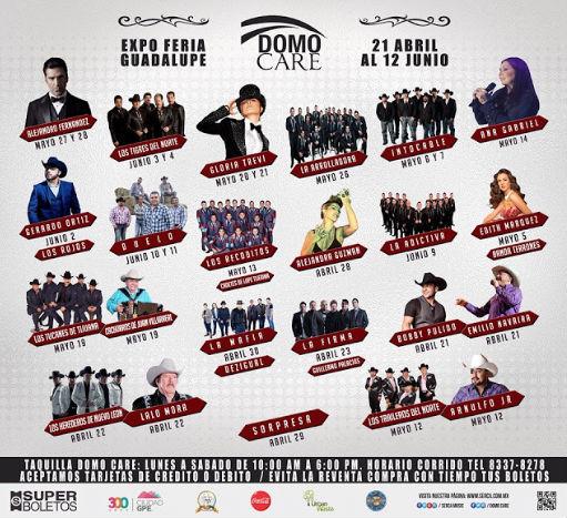 Cartel Domo Care Expo Feria Guadalupe 2016