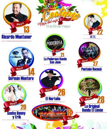 Cartel de la Feria del Café 2016