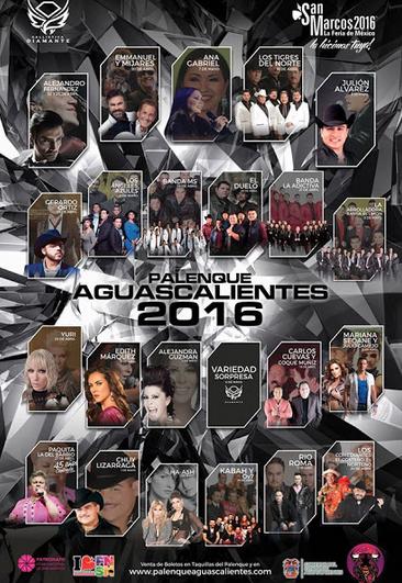 Cartel Feria de San Marcos 2016