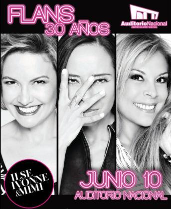 Flans en Auditorio Nacional 10 de junio
