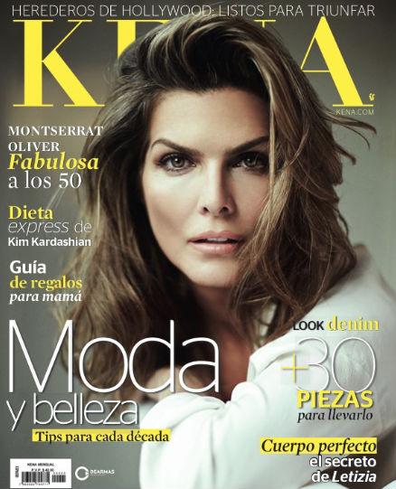 Montserrat Oliver en Revista Kena