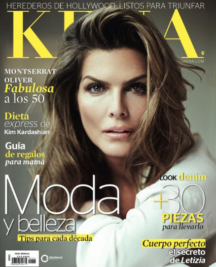 Revista Kena con Montserrat Oliver