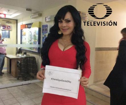 Maribel Guardia apoya ChenteSigueSiendoElRey