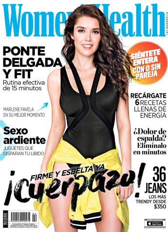 Marlene Favela en Revista Women's Health