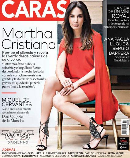 Martha Cristiana en Revista Caras