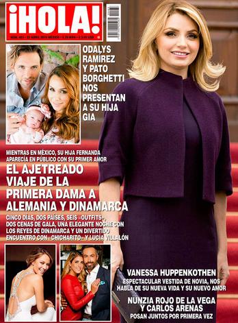 Pdalys Ramírez en Revista Hola