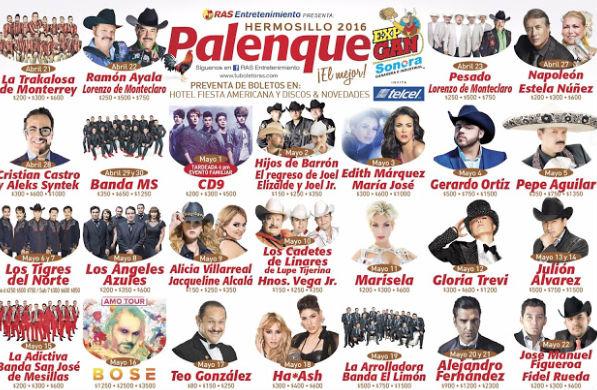 Palenque de Hermosillo 2016