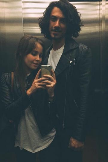 Rafael Cebrian y Natasha Dupeyron