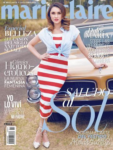 Revista Marie Claire con Dulce María