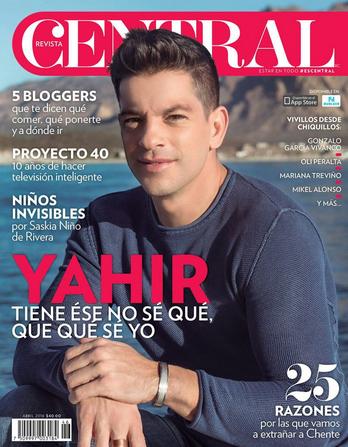 Yahir en Revista Central