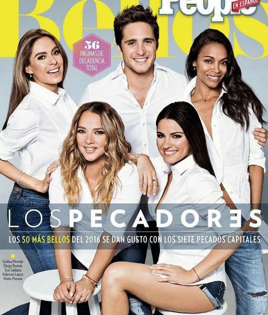 Maite Perroni entre los 50 más bellos de People en español