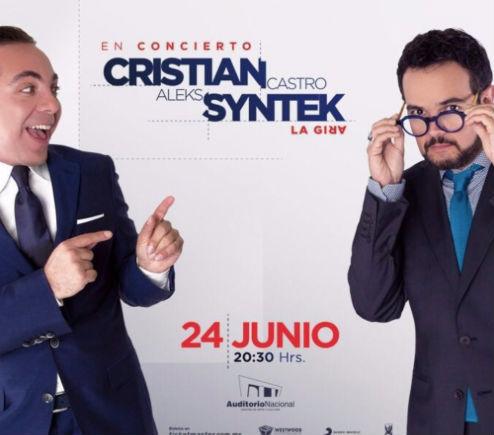 Aleks Syntek y Cristian Castro en Auditorio Nacional