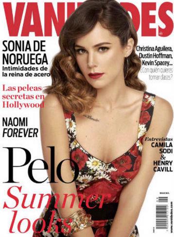 Camila Sodi en Revista Vanidades