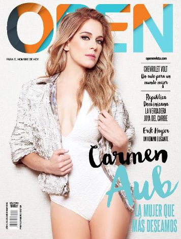 Carmen Aub en  Revista Open