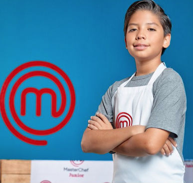 Emiliano de MasterChef Jr