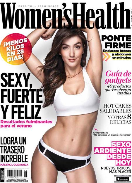 Eréndira Ibarra en Revista Women´s Health