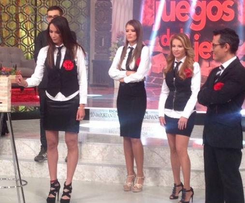 Ivette Hernández en Ingrid Coronado juntas en Venga la Alegría