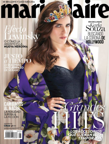 Karla Souza en Revista Marie Claire