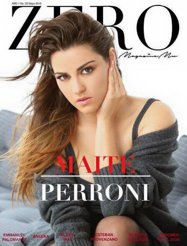 Maite Perroni en Revista Zero