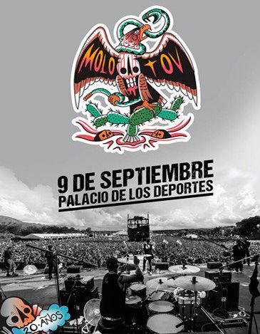 Molotov en Palacio de los Deportes 9 de septiembre