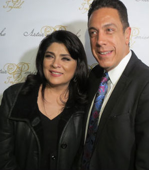 Omar Fatad y Victoria Ruffo