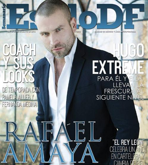 Rafael Amaya en Revista Estilo DF