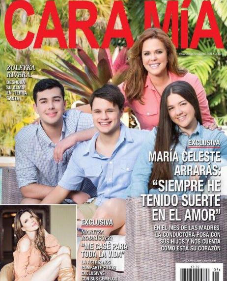 Revista Cara mía con María Celeste
