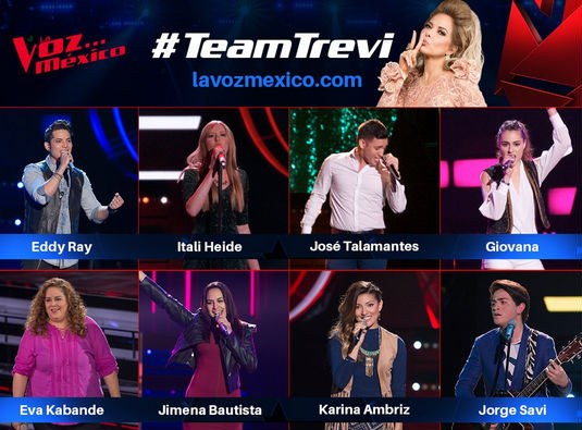 Team de Gloria Trevi