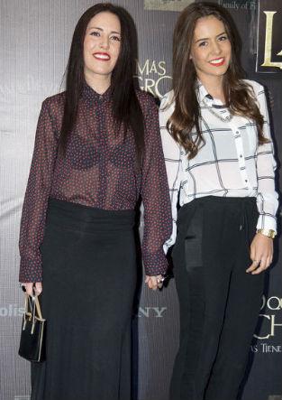 Stephanie Salas y Camila Valero