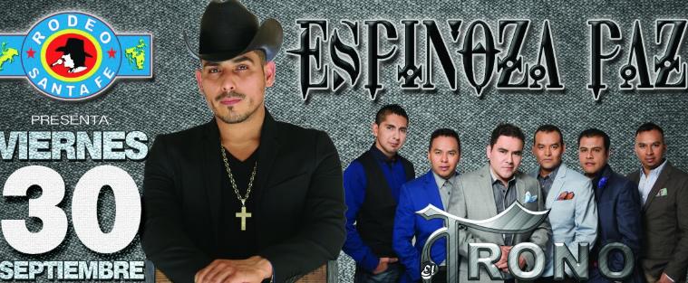 Espinoza Paz y Trono de México en Rodeo Santa Fé 30 de septiembre