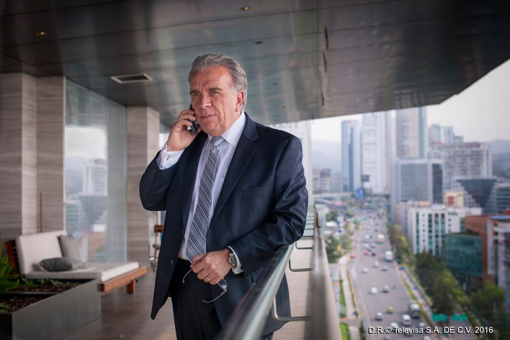 José Elías Moreno en Sin rastro de ti