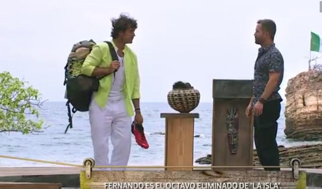 Fernando Alonso eliminado de La Isla