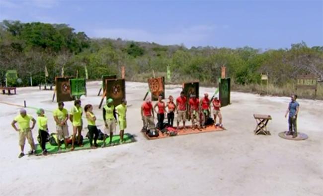 La Isla equipo Jade y Oro
