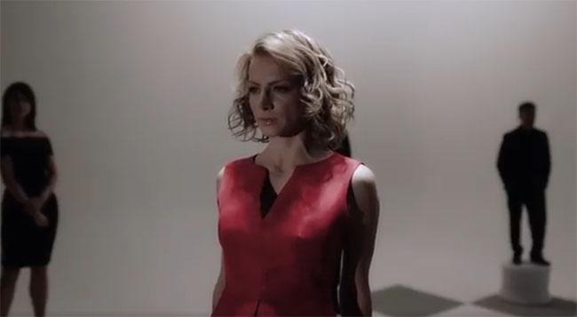 Silvia Navarro en promo de La Candidata