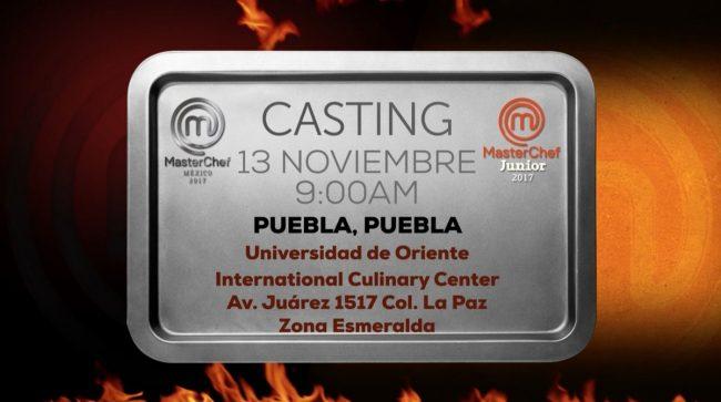 MasterChef México casting