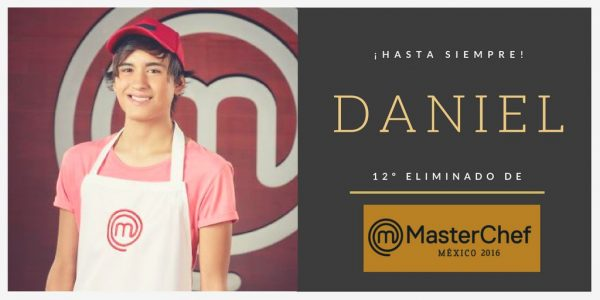 Daniel de MasterChef